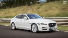 2015 Jaguar XE ride