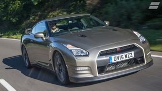2015 Nissan GT-R front tracking