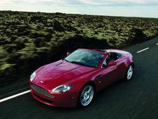 Aston Martin V8 Vantage Roadster convertible