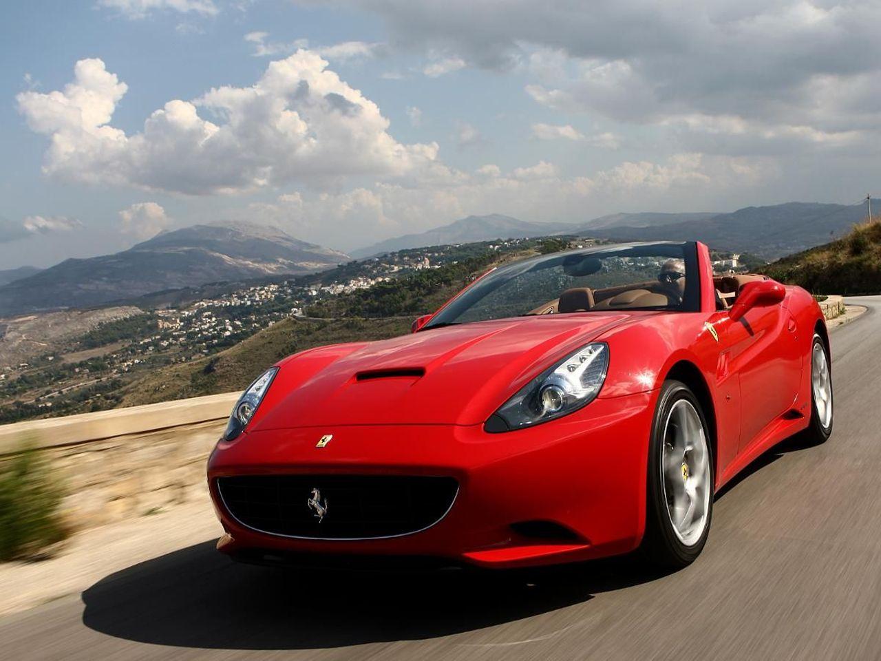 Ferrari California convertible