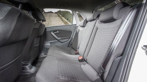 2014 Volkswagen Polo rear seats