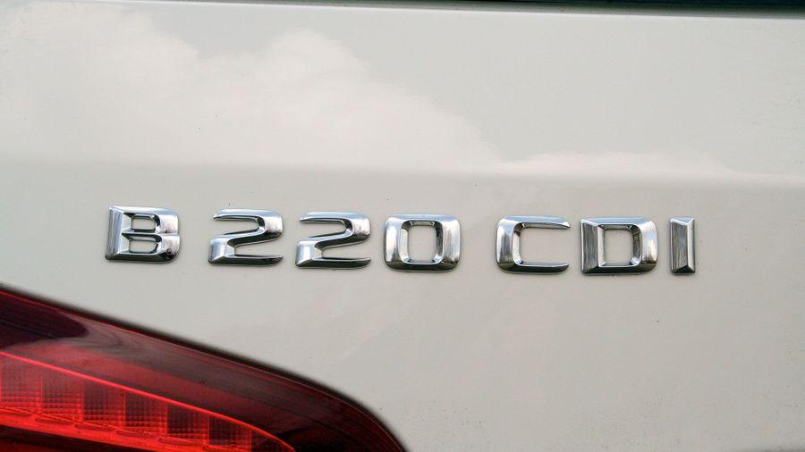 Mercedes B-Class running costs
