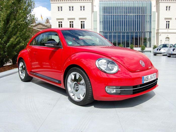 Volkswagen Beetle hatchback