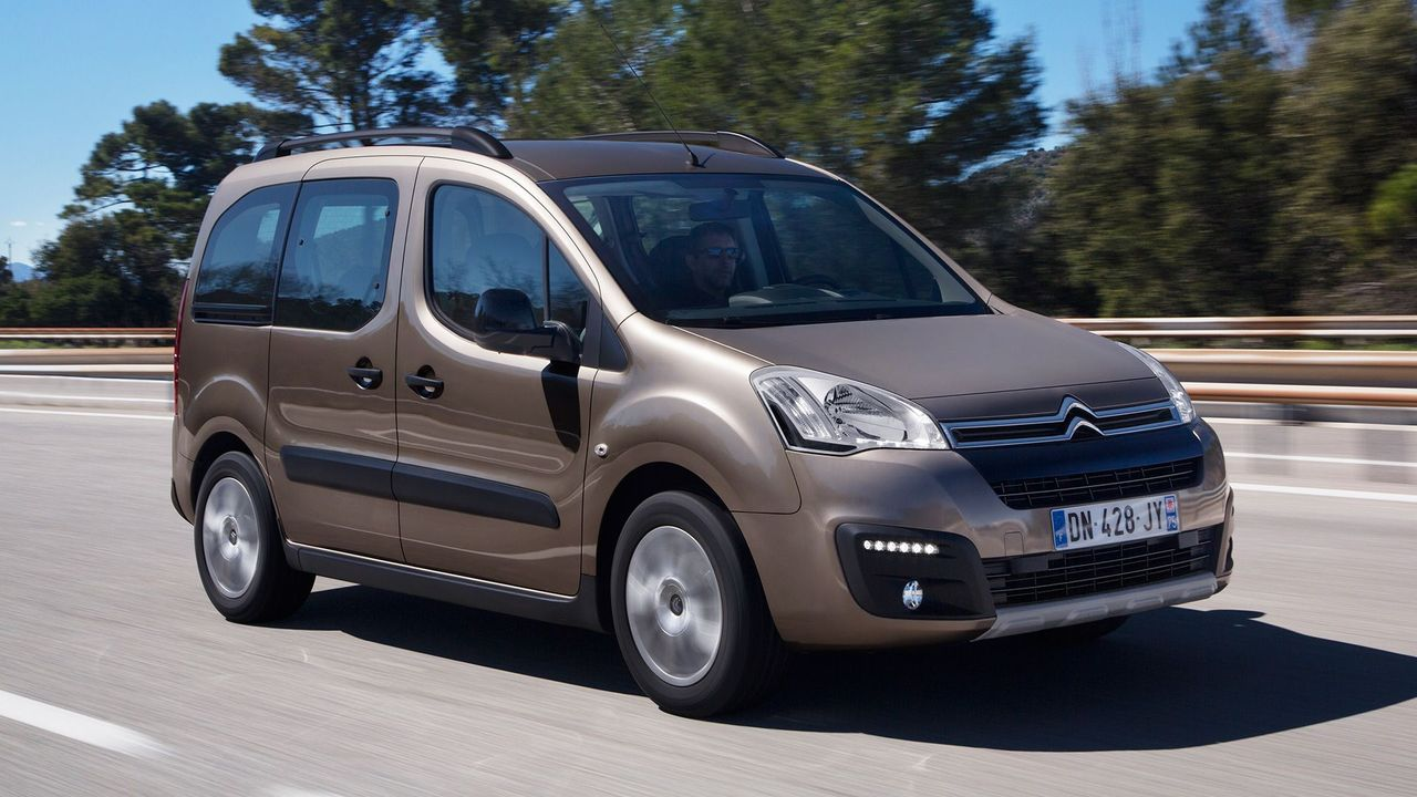 2015 Citroen Berlingo Multispace front track
