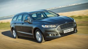 Ford Mondeo Estate ride comfort