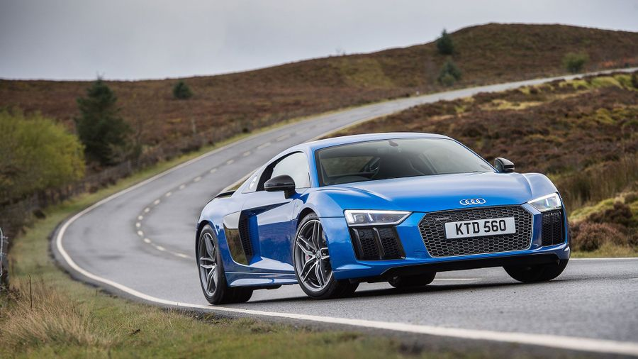 2015 Audi R8 V10 Plus coupe