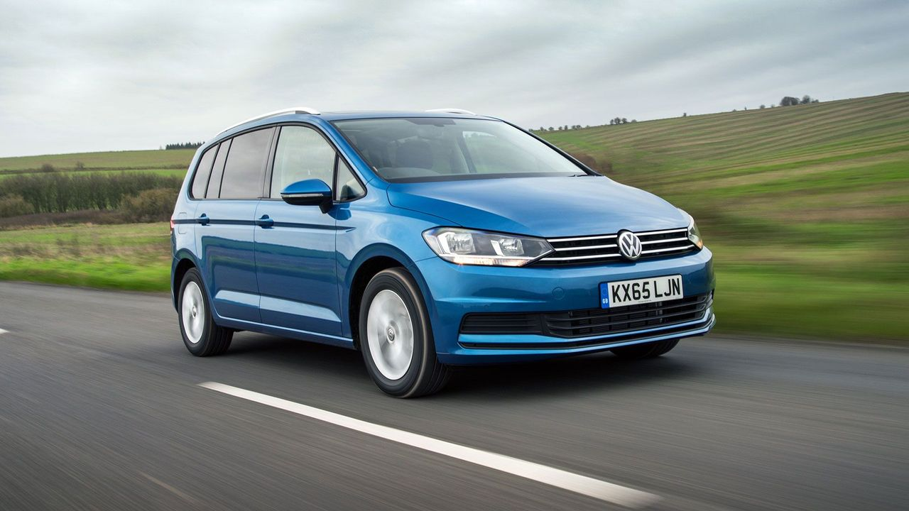 2015 Volkswagen Touran ride