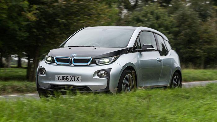 BMW i3 on-road