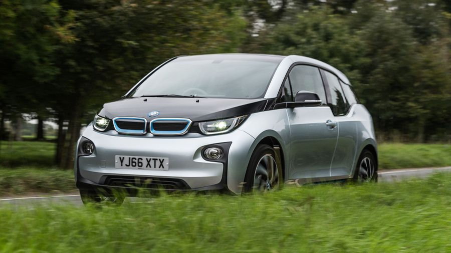 BMW i3 on-road
