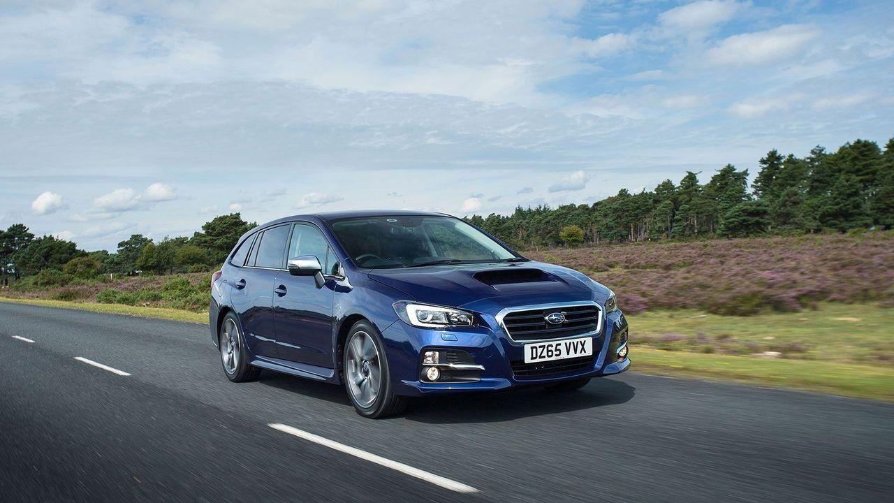 2015 Subaru Levorg ride
