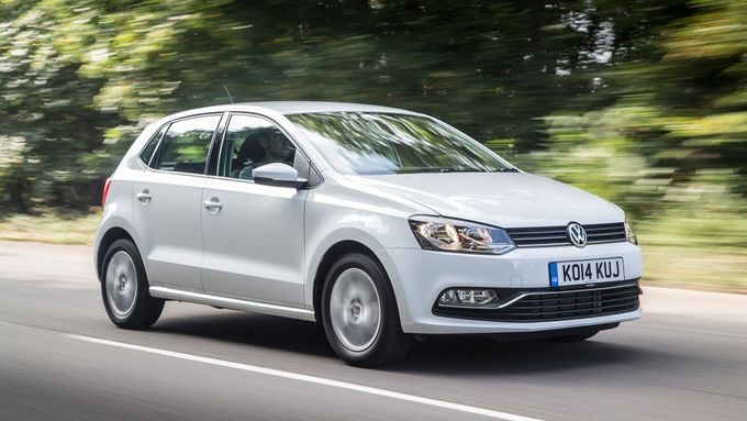 2014 Volkswagen Polo front