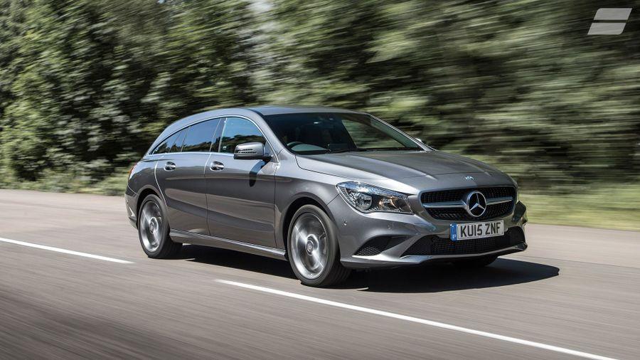 Mercedes CLA Shooting Brake performance