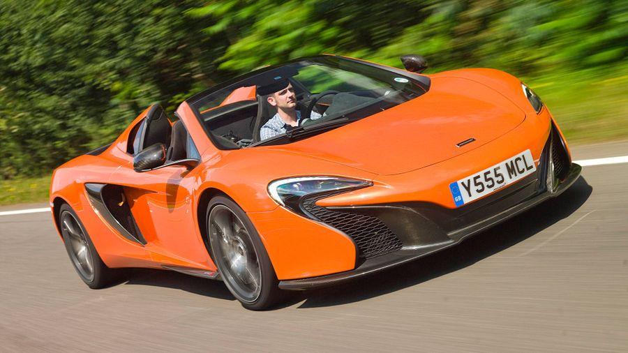 McLaren 650S performance