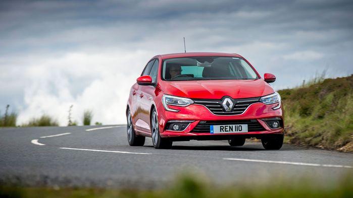 2016 Renault Megane handling