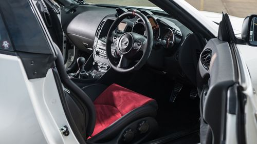 2014 Nissan 370Z Nismo cabin
