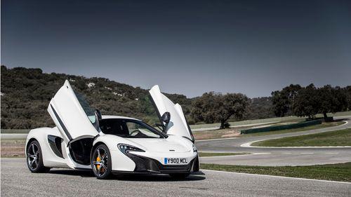 2014 McLaren 650 Coupe exterior