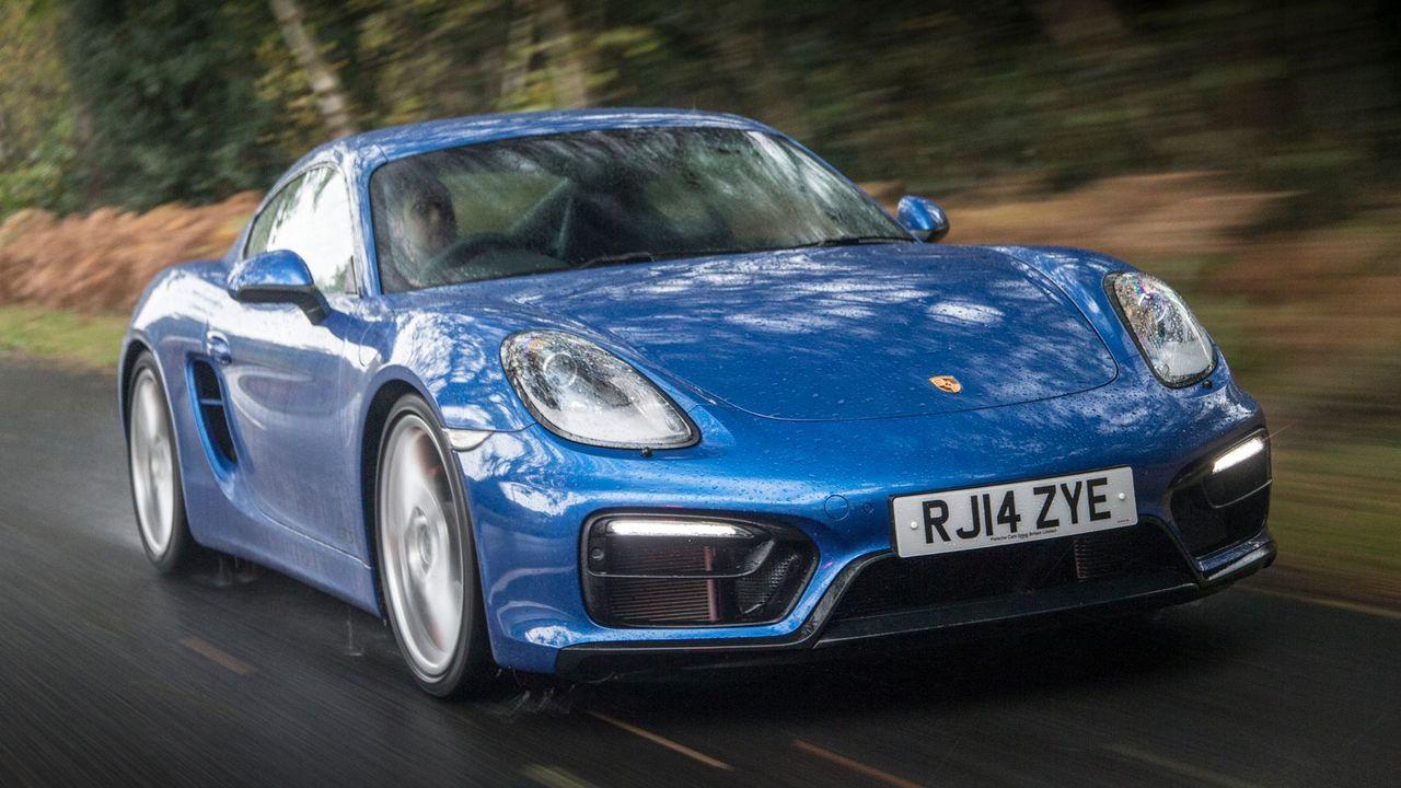 Porsche Cayman tracking