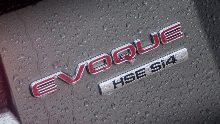 Range Rover Evoque equipment