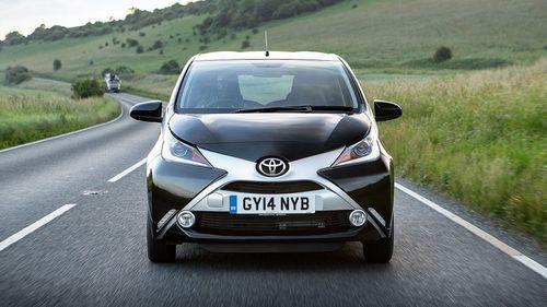 2014 Toyota Aygo front