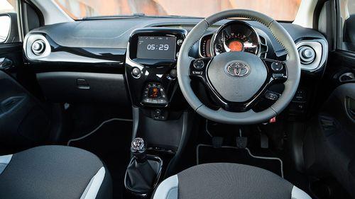 2014 Toyota Aygo dashboard