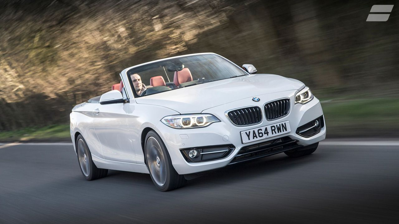 BMW 2 Series Convertible ride