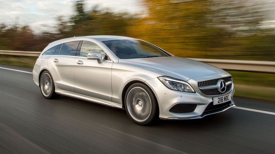Mercedes CLS Shooting Brake refinement