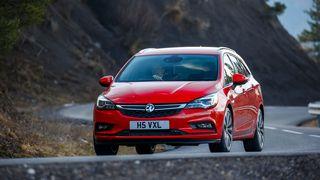 2016 Vauxhall Astra Sports Tourer handling