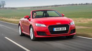2015 Audi TT Roadster ride