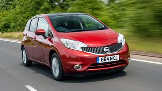 Nissan Note ride