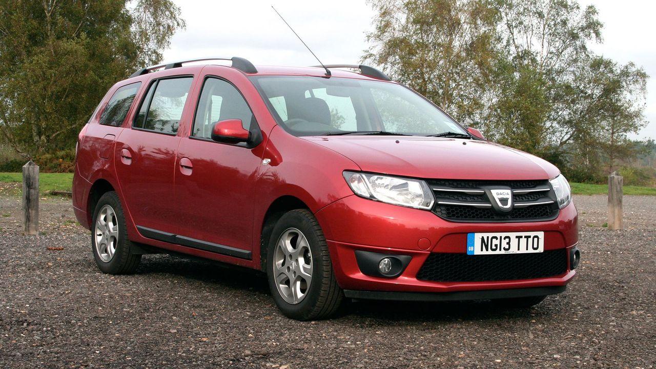 Dacia Logan MCV front