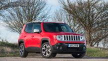 2015 Jeep Renegade 1.6 diesel Limited static