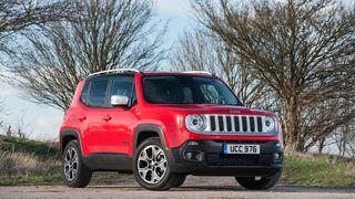 2015 Jeep Renegade 1.6 diesel Limited static