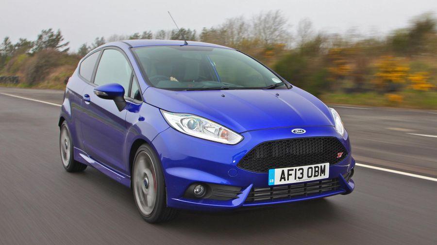 Ford Fiesta ST handling
