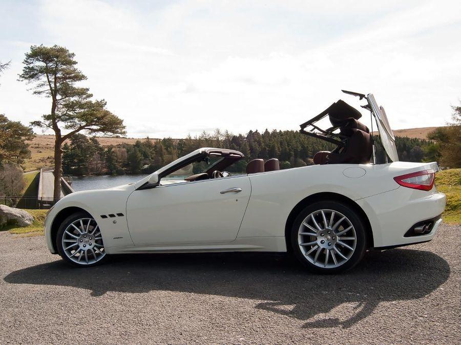 Maserati GranCabrio convertible