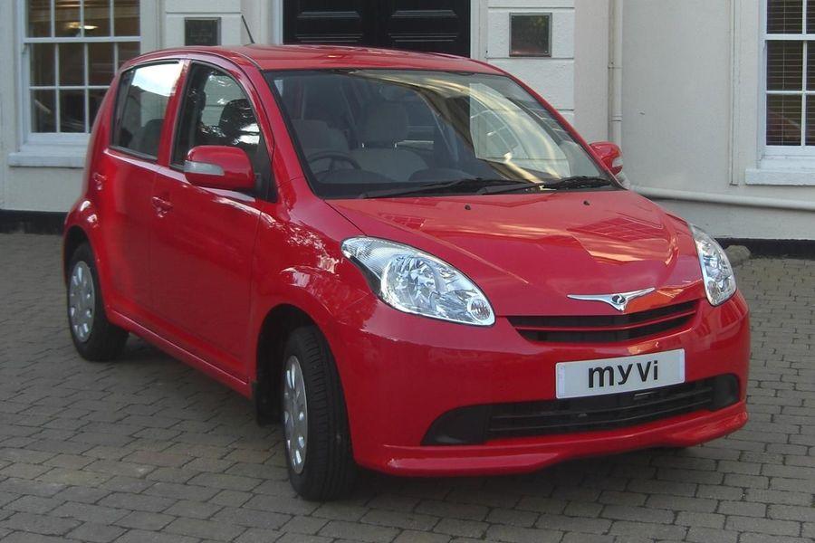 Perodua Myvi hatchback