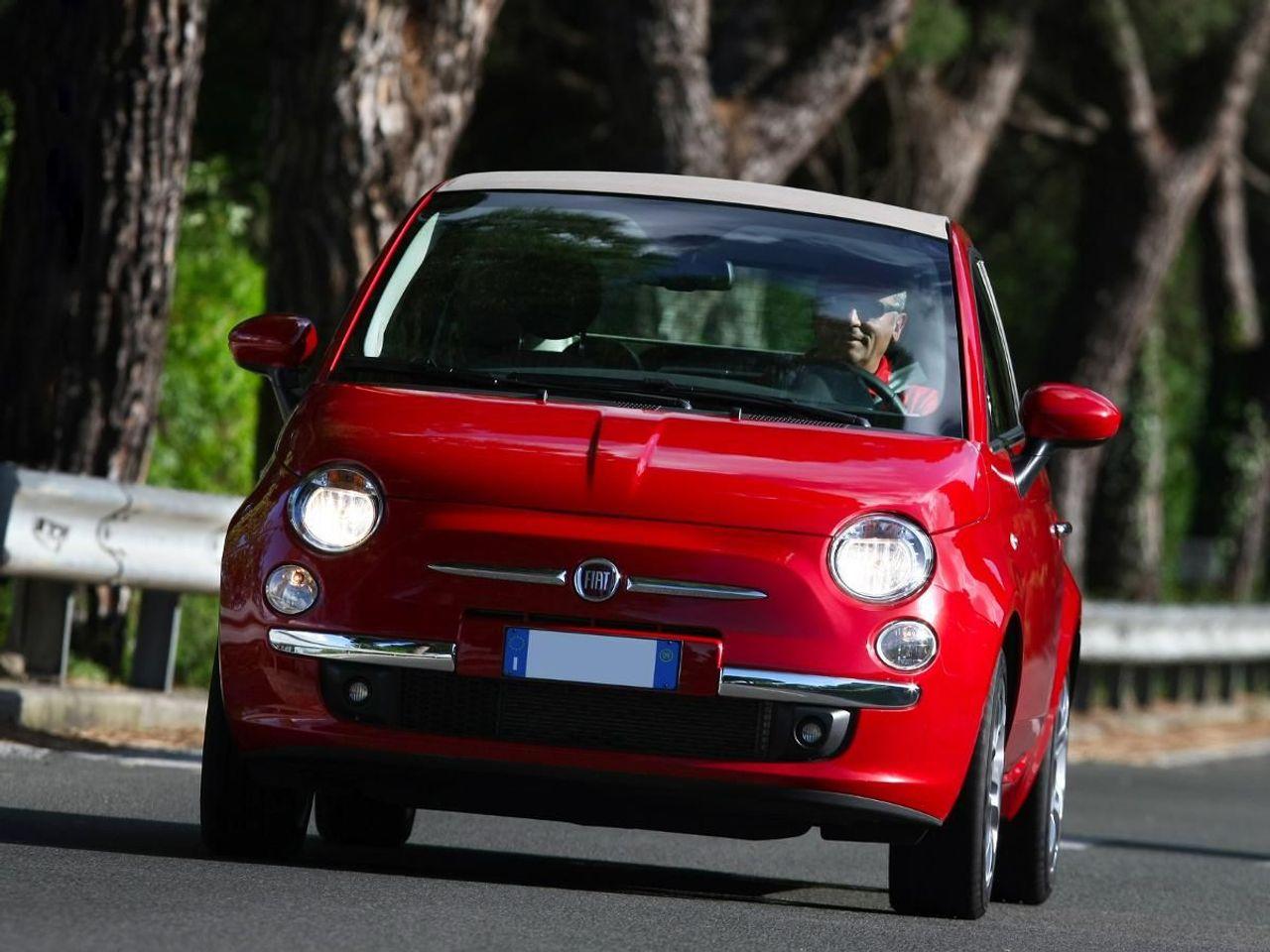 Fiat 500C convertible