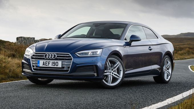2017 Audi A5 Coupe Front Three Quarter