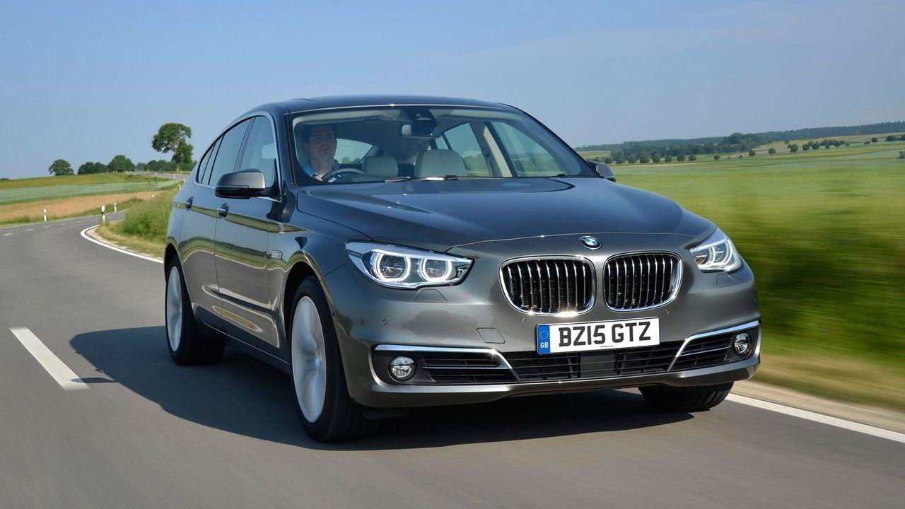 BMW 5 Series GT refinement