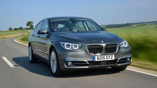 BMW 5 Series GT refinement