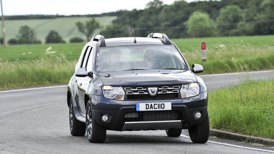Dacia Duster ride