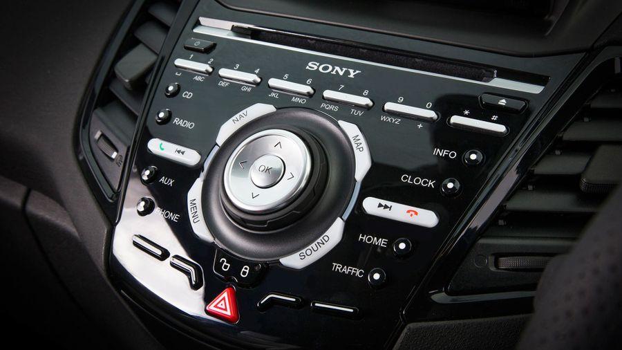 Ford Fiesta ST equipment