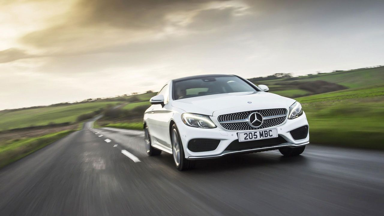 2016 Mercedes C-Class Coupe low track