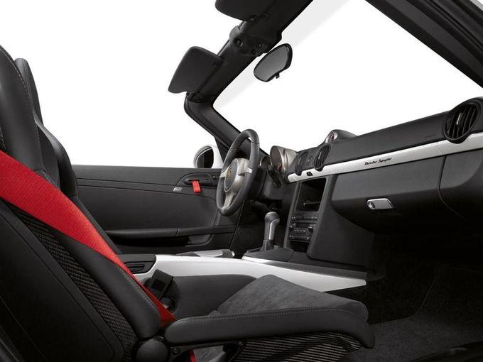 Porsche Boxster Spyder convertible