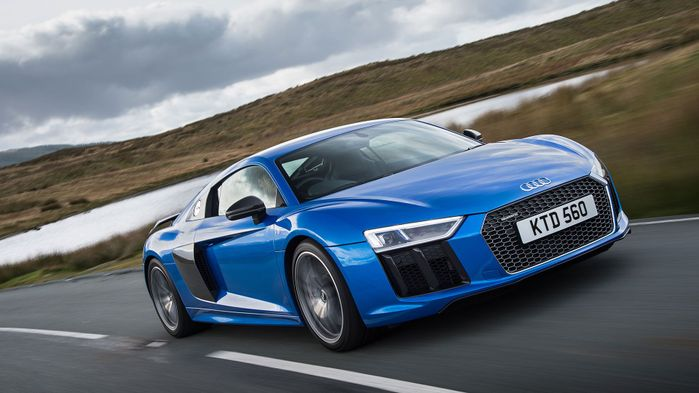 2015 Audi R8 V10 Plus Coupe front track