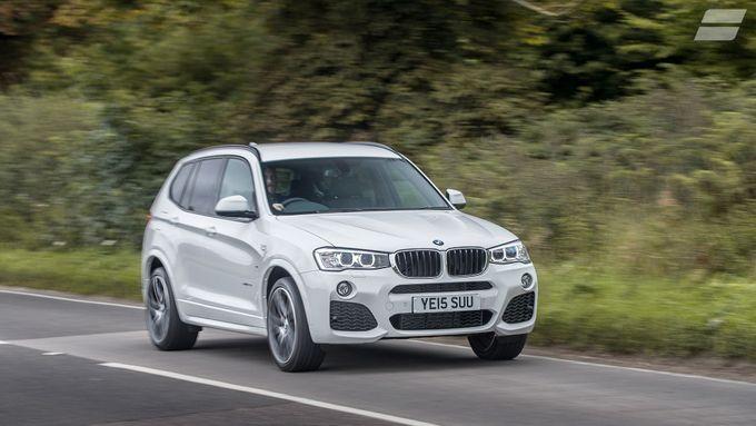 BMW X3 ride