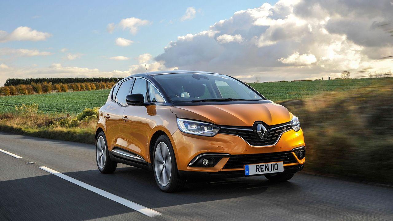 Renault Scenic ride