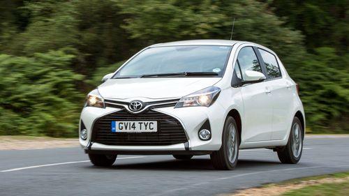 Toyota Yaris handling