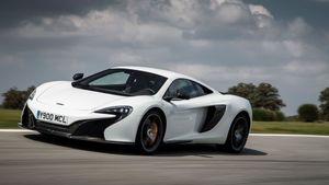 2014 McLaren 650 Coupe ride