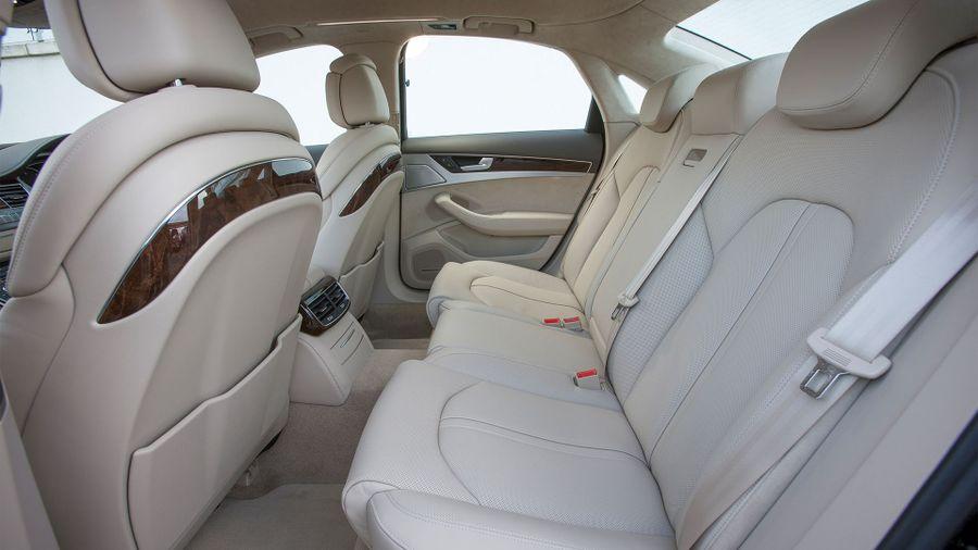 Audi A8 practicality