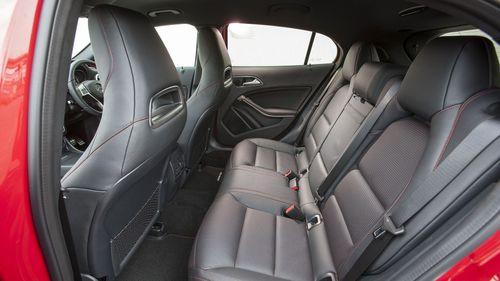 Mercedes GLA practicality